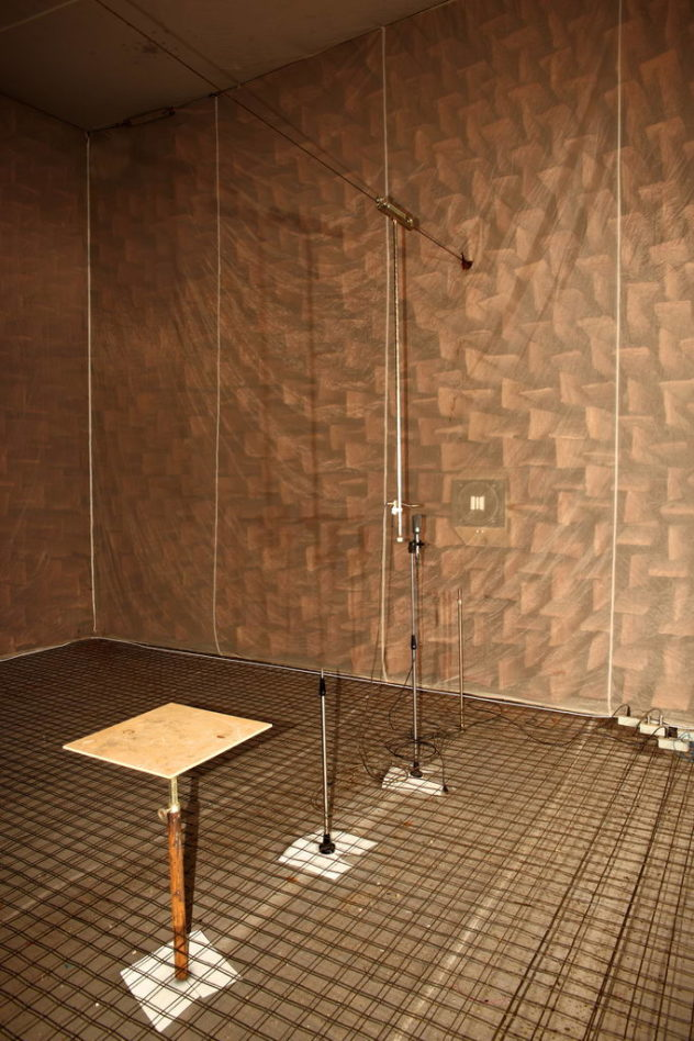 Anechoic Chamber, Nevaton factory St.Petersburg